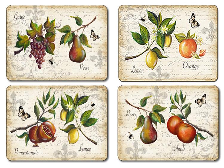 Placematscom Jason Classic Fruit Placemats Floral