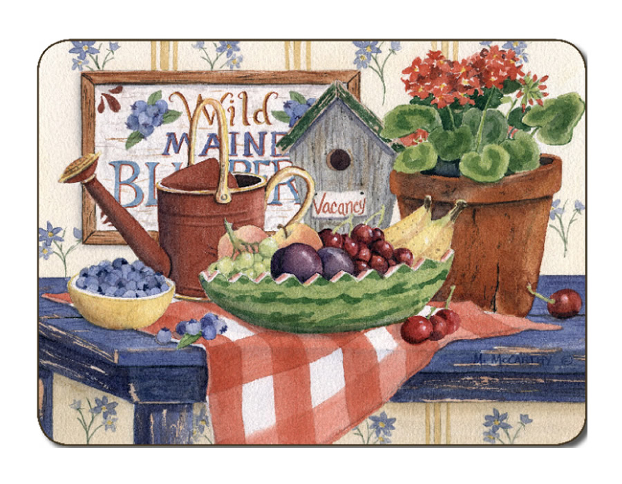 Jason Placemats, Country Kitchen, corkbacked place mats