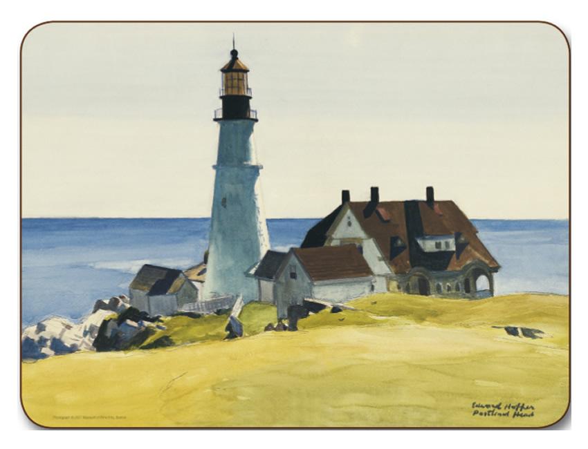 Placemats Com Jason Edward Hopper Lighthouse Placemats