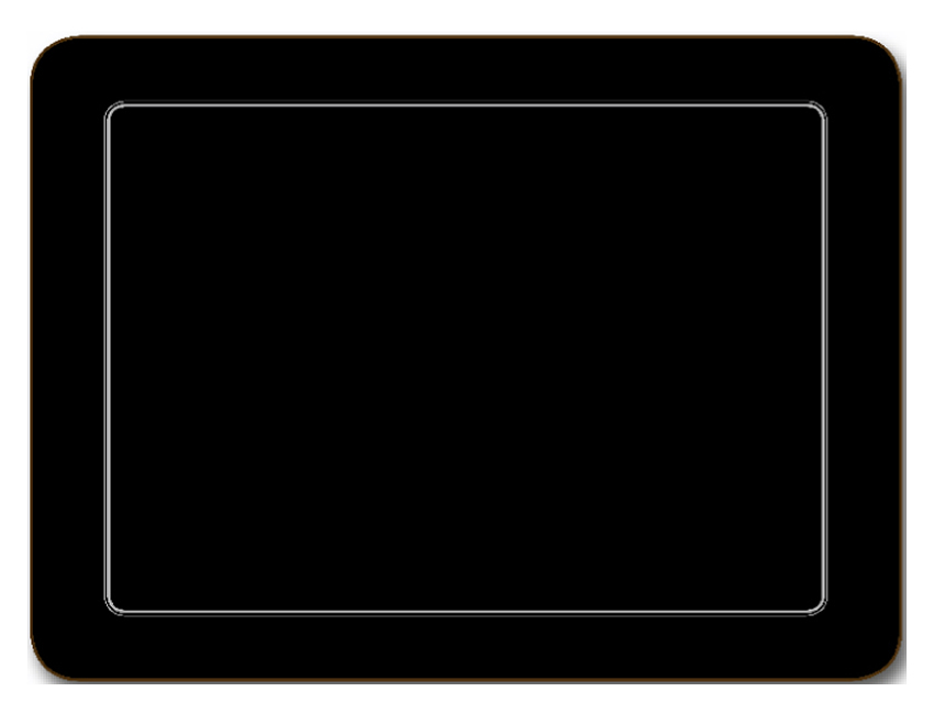 Jason Placemats Embassy Black Design Hardboard Place