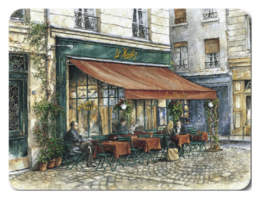 Jason Placemats French Cafes Corkbacked Place Mats