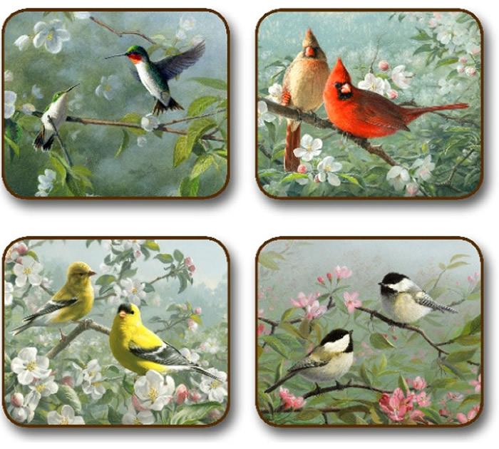 Placematscom Jason Garden Birds Placemats Animals