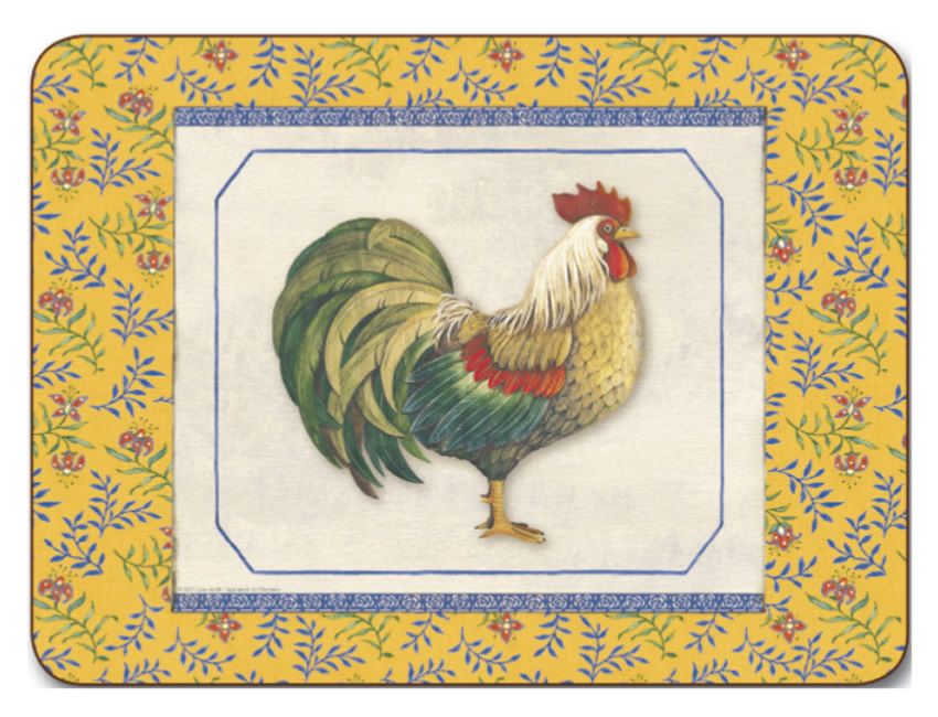 Placemats / Design / Animals - Jason Provencal Rooster Placemats