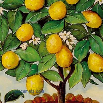 Placemats Com Lady Clare Lemon Tree Placemats Floral