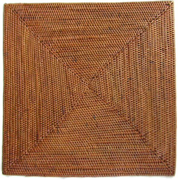 Natural Placemats - Coasters (6 square) - click image to close