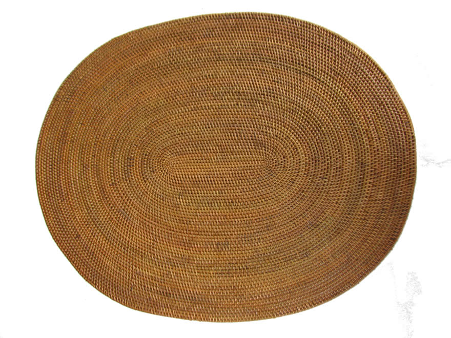 natural placemats oval shape placemats