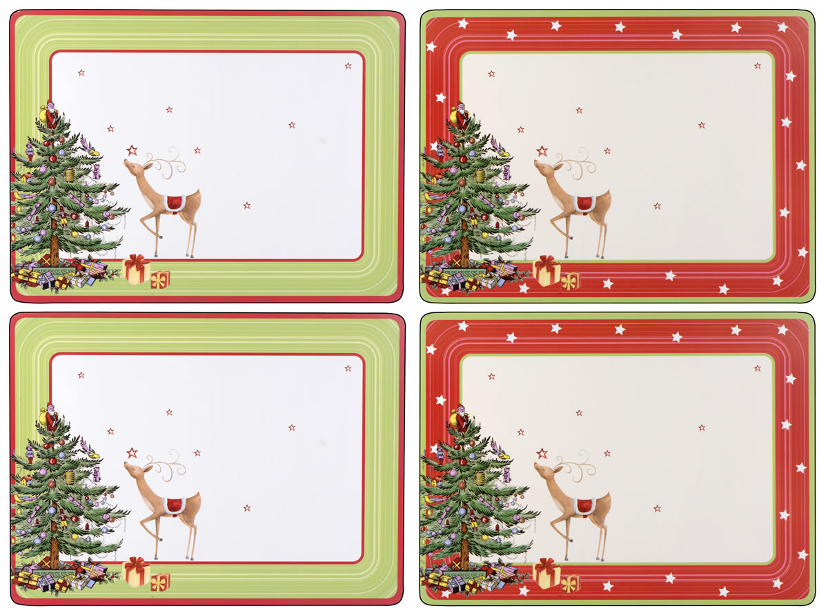 Placematscom Pimpernel Christmas Jubilee Placemats