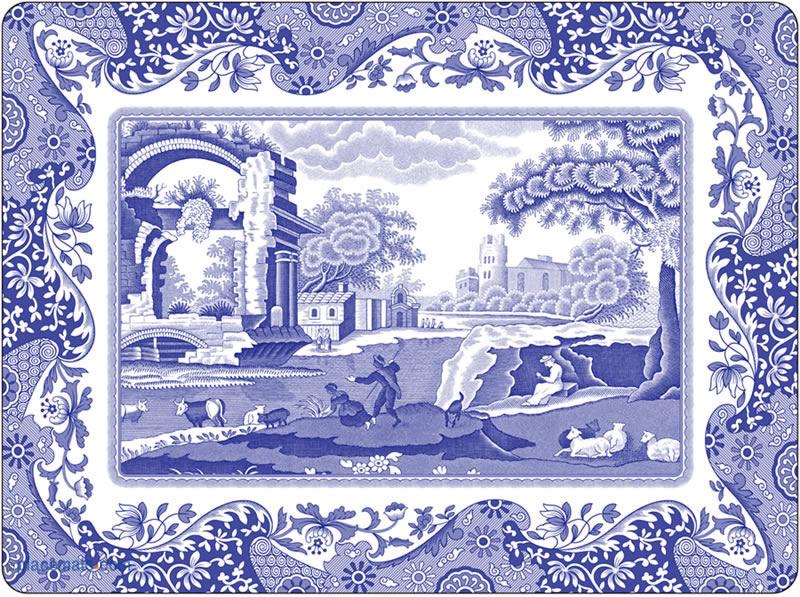 Placemats Com Pimpernel Blue Italian Placemats