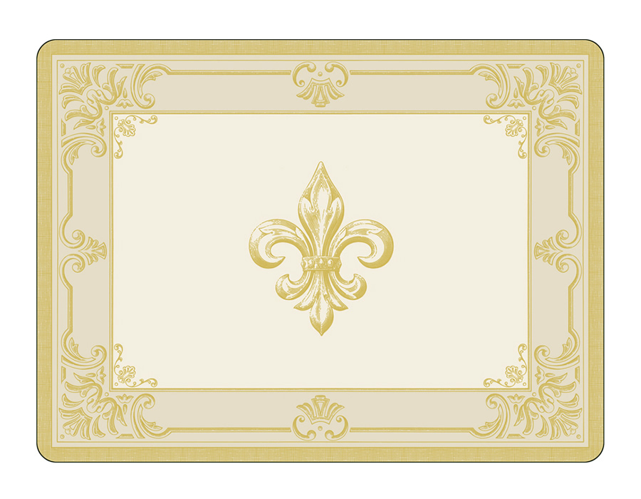 Pimpernel Placemats Fleur de Lis cork backed place mats : PimpernelFDCFleurdeLysplacematsbig from www.placemats.com size 900 x 700 jpeg 175kB