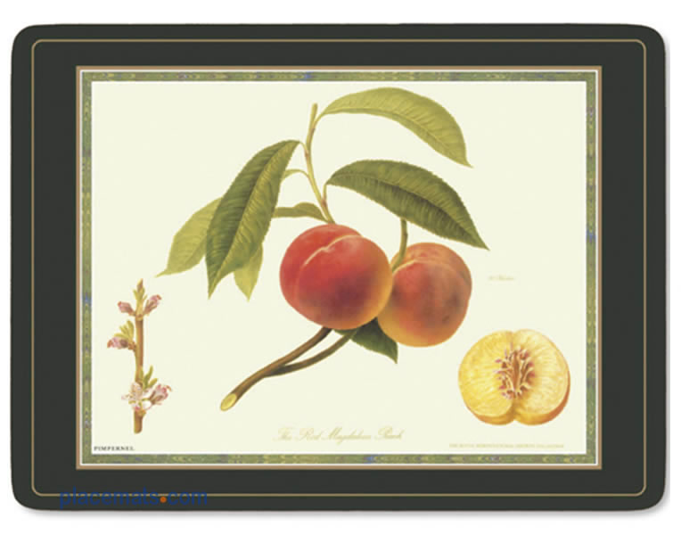 Placematscom Pimpernel Hooker Fruits Placemats