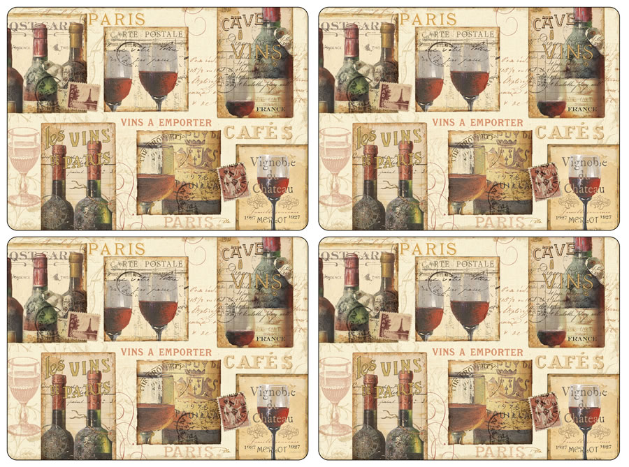 Pimpernel Placemats The French Cellar corkbacked place mats : PimpernelTheFrenchCellarPlacematsall4400 from www.placemats.com size 900 x 669 jpeg 213kB