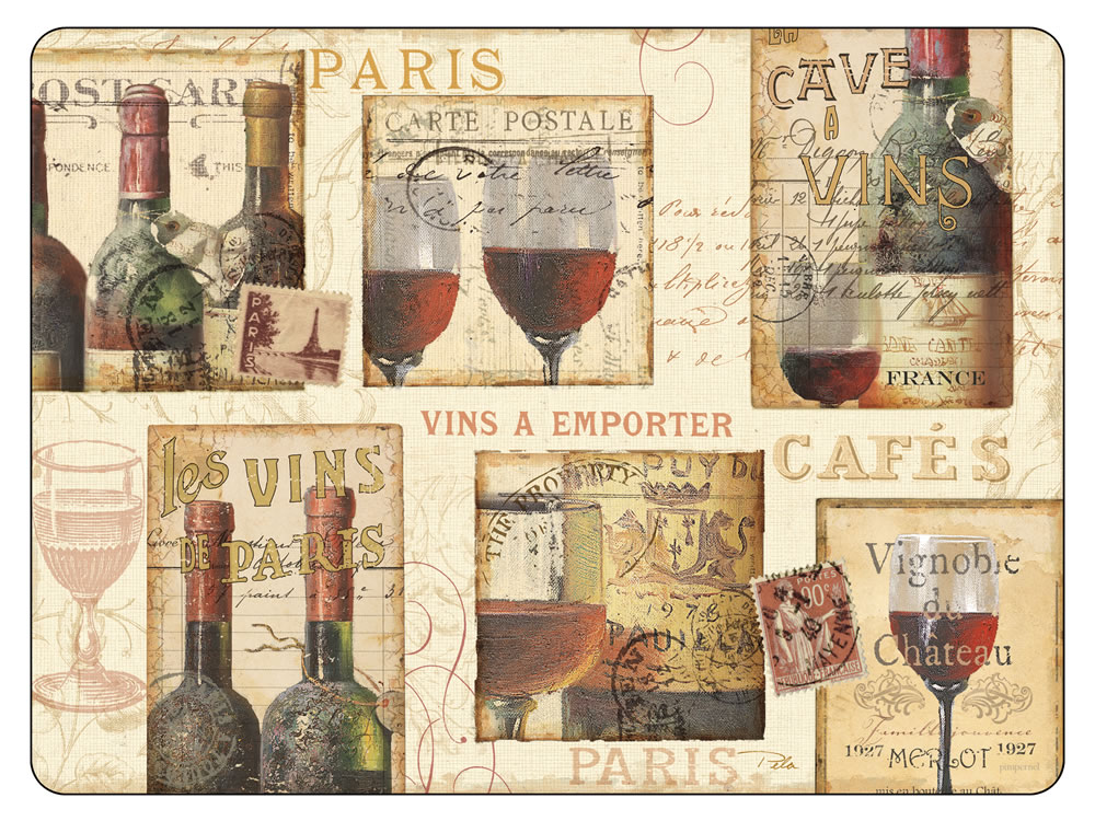 Placematscom Pimpernel The French Cellar Placemats