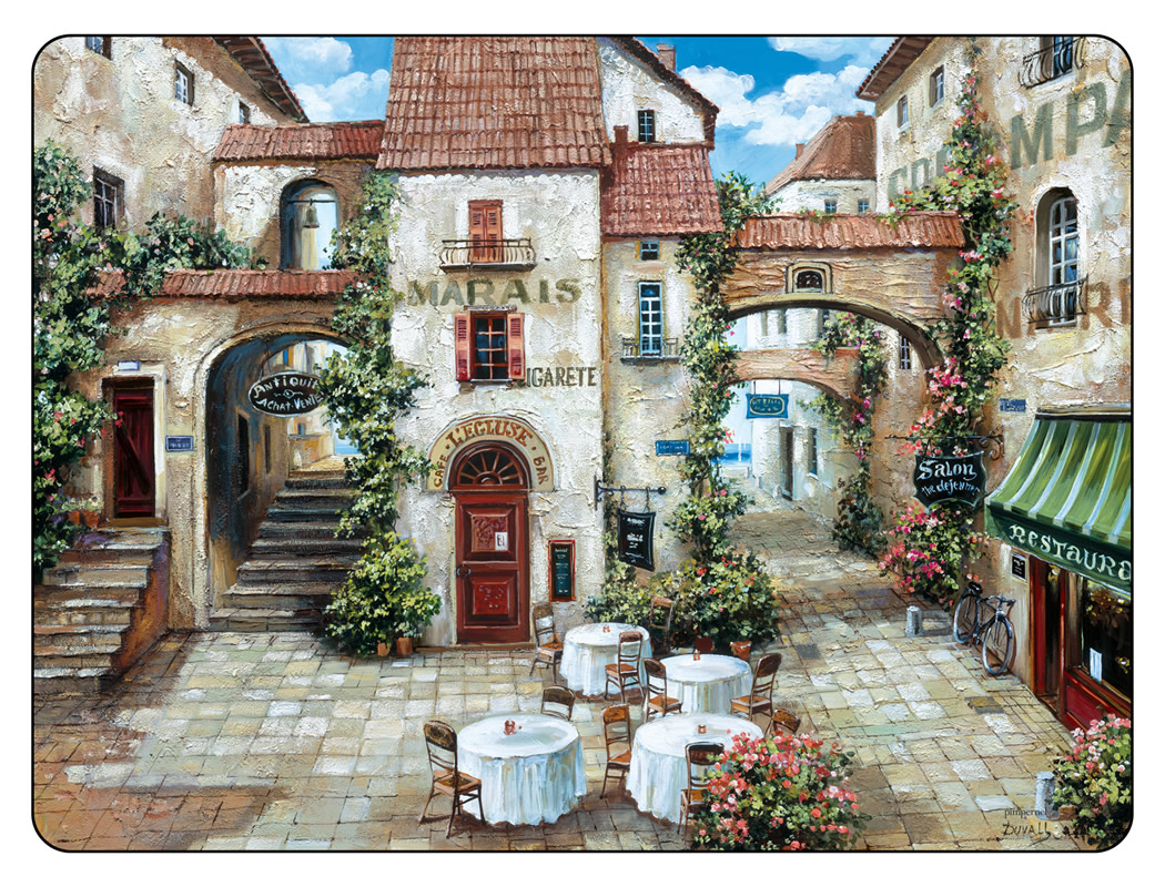 Pimpernel Placemats Trattoria Cork Backed Place Mats