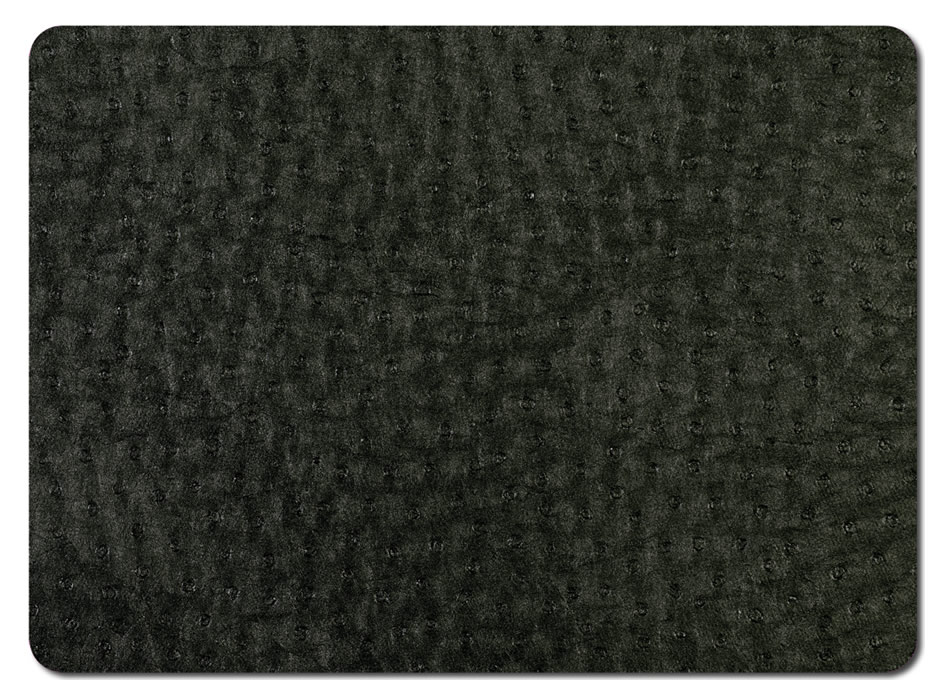 Table Toppers Emu Black Placemats